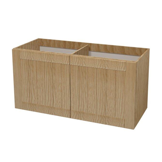 Tiger - Tiger Frames meuble-sous vasque 120 cm chêne rustique